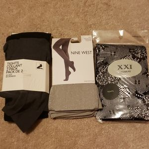 Accessories - 🆕️🎆 NWT Assorted Tights Bundle